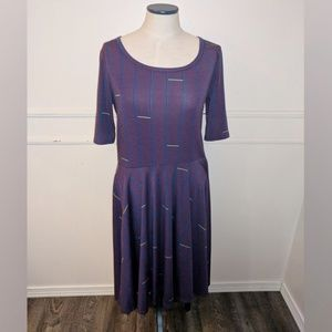 LuLaRoe Nicole Large Dress